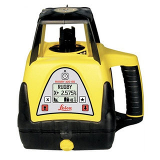 Leica Rugby 320SG Single Grade Laser Level